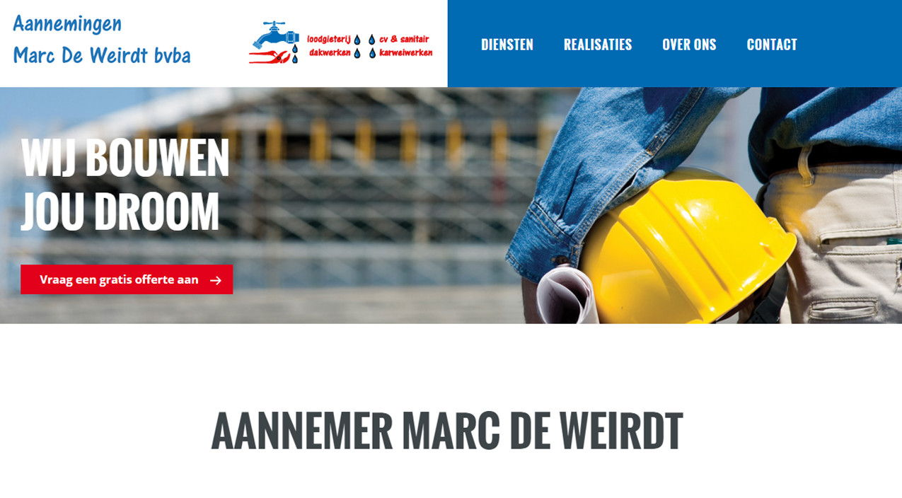 Marc Deweirdt | Webdesign Stabroek